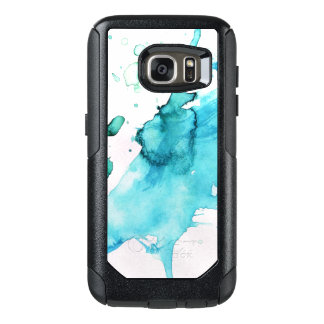 Abstract watercolor hand painted background 2 2 OtterBox samsung galaxy s7 case