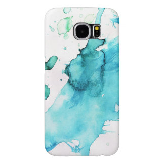 Abstract watercolor hand painted background 2 2 samsung galaxy s6 cases