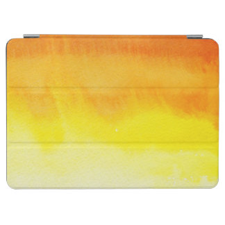 Abstract watercolor hand painted background 2 3 iPad air cover