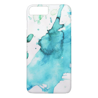 Abstract watercolor hand painted background 2 3 iPhone 8 plus/7 plus case