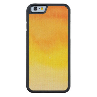 Abstract watercolor hand painted background 2 3 maple iPhone 6 bumper