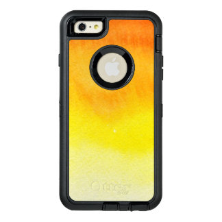 Abstract watercolor hand painted background 2 3 OtterBox defender iPhone case