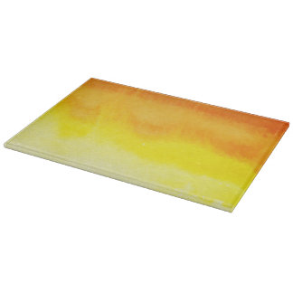 Abstract watercolor hand painted background 2 cutting board