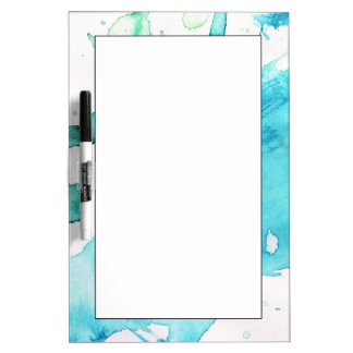 Abstract watercolor hand painted background 2 Dry-Erase board
