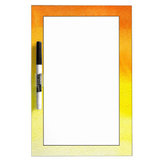 Abstract watercolor hand painted background 2 dry erase whiteboards