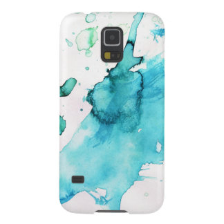 Abstract watercolor hand painted background 2 galaxy s5 covers