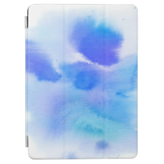 Abstract watercolor hand painted background. 2 iPad air cover