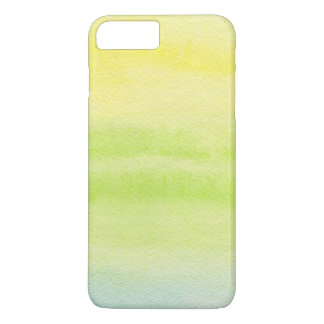 Abstract watercolor hand painted background 2 iPhone 8 plus/7 plus case