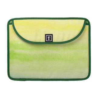 Abstract watercolor hand painted background 2 MacBook pro sleeves