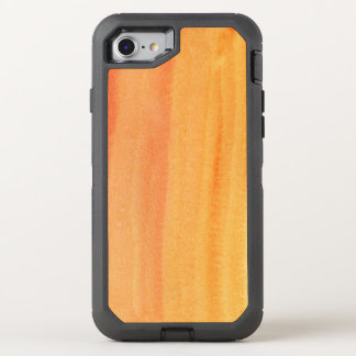 Abstract watercolor hand painted background 2 OtterBox defender iPhone 8/7 case