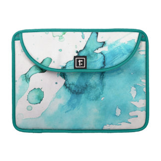 Abstract watercolor hand painted background 2 sleeve for MacBooks