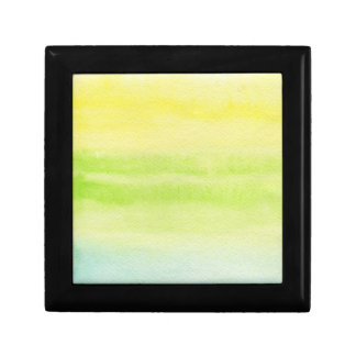 Abstract watercolor hand painted background 2 small square gift box