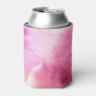 Abstract watercolor hand painted background 3 2 can cooler