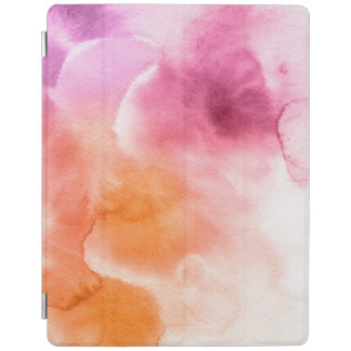 Abstract watercolor hand painted background 3 2 iPad cover