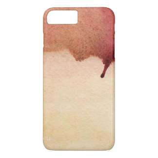 Abstract watercolor hand painted background 3 2 iPhone 8 plus/7 plus case