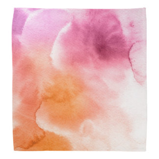 Abstract watercolor hand painted background 3 3 bandana
