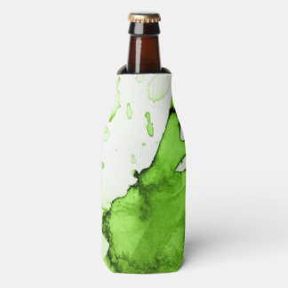 Abstract watercolor hand painted background 3 3 bottle cooler