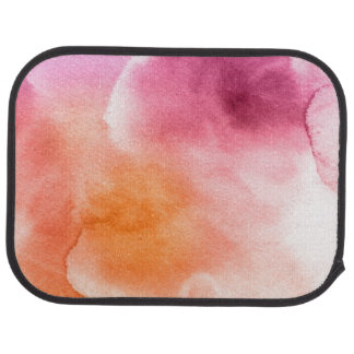 Abstract watercolor hand painted background 3 3 car mat
