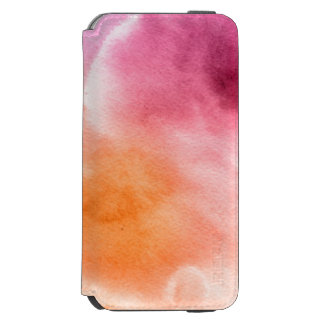 Abstract watercolor hand painted background 3 3 incipio watson™ iPhone 6 wallet case