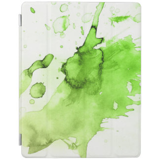Abstract watercolor hand painted background 3 3 iPad cover