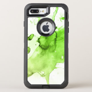 Abstract watercolor hand painted background 3 3 OtterBox defender iPhone 8 plus/7 plus case