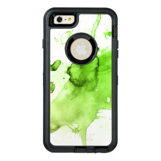 Abstract watercolor hand painted background 3 3 OtterBox defender iPhone case