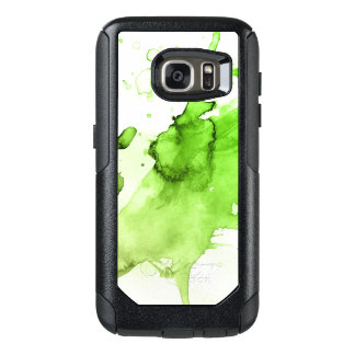 Abstract watercolor hand painted background 3 3 OtterBox samsung galaxy s7 case