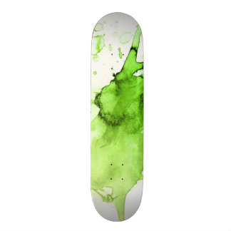 Abstract watercolor hand painted background 3 custom skateboard