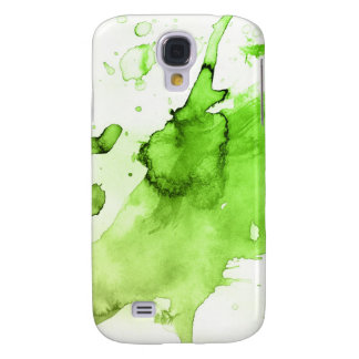 Abstract watercolor hand painted background 3 galaxy s4 case