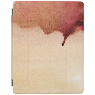 Abstract watercolor hand painted background 3 iPad cover