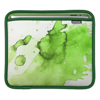 Abstract watercolor hand painted background 3 iPad sleeve