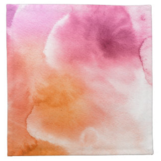 Abstract watercolor hand painted background 3 napkin