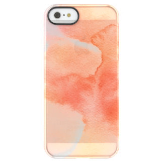 Abstract watercolor hand painted background 3 permafrost® iPhone SE/5/5s case