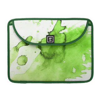Abstract watercolor hand painted background 3 sleeves for MacBook pro