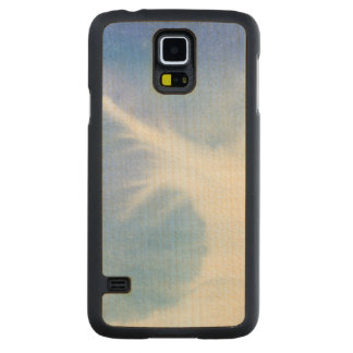 Abstract watercolor hand painted background 4 2 carved maple galaxy s5 case