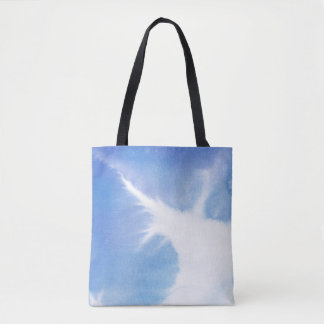 Abstract watercolor hand painted background 4 2 tote bag