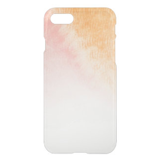Abstract watercolor hand painted background 4 3 iPhone 8/7 case