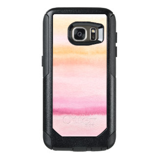Abstract watercolor hand painted background 4 3 OtterBox samsung galaxy s7 case