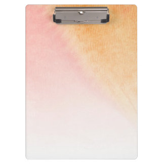 Abstract watercolor hand painted background 4 clipboard