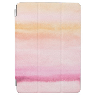 Abstract watercolor hand painted background 4 iPad air cover