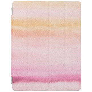 Abstract watercolor hand painted background 4 iPad cover