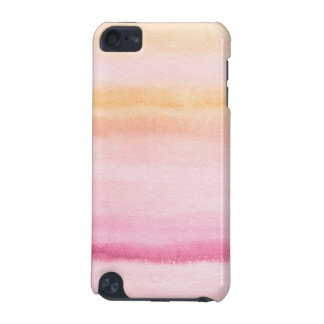Abstract watercolor hand painted background 4 iPod touch 5G cases