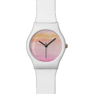 Abstract watercolor hand painted background 4 watch