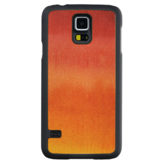 Abstract watercolor hand painted background 5 2 carved maple galaxy s5 case
