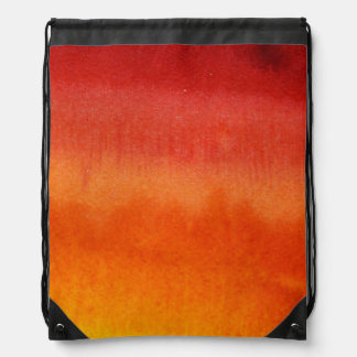 Abstract watercolor hand painted background 5 2 drawstring bag