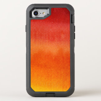 Abstract watercolor hand painted background 5 2 OtterBox defender iPhone 8/7 case