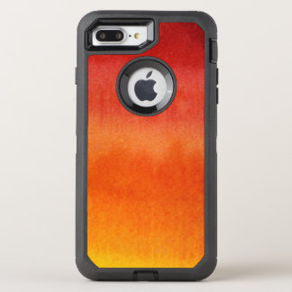Abstract watercolor hand painted background 5 2 OtterBox defender iPhone 8 plus/7 plus case