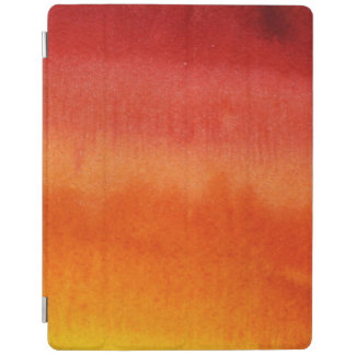Abstract watercolor hand painted background 5 3 iPad cover