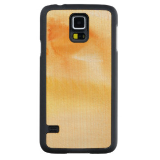 Abstract watercolor hand painted background 5 3 maple galaxy s5 slim case