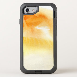 Abstract watercolor hand painted background 5 4 OtterBox defender iPhone 8/7 case